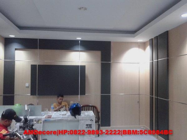 gambar Ruang lobby interior ruko soepomo