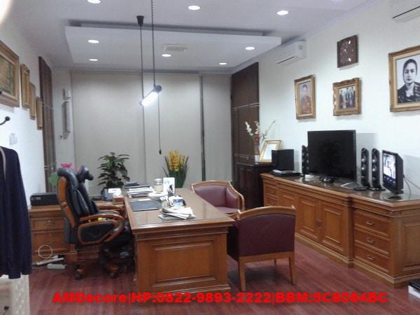 gambar Ruangan direktur interior ruko