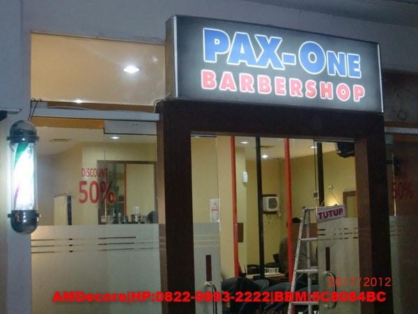 foto Tampak depan PAX One Barbershop